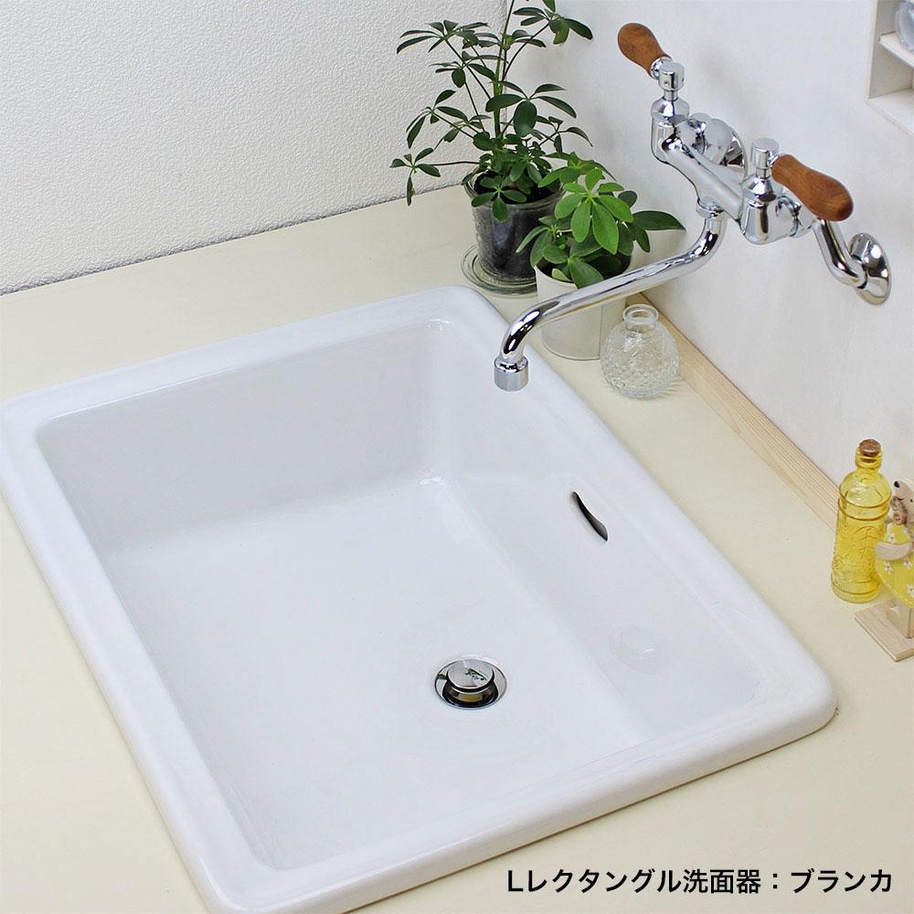 ブランカ 【Essence】 Lレクタングル 洗面器
